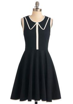 Just Collar on Me Dress, #ModCloth