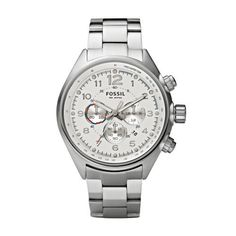 Fossil Flight Stainless Steel Watch - CH2696 Fossil. $106.95. Dial color: Silver. Condition:Brand new with Tags. Model: ch2696. Brand:Fossil. Band Color: Silver