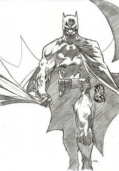 jim lee art | Jim Lee's Batman by ~bensonput on deviantART