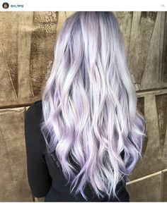 silver metallic lilac