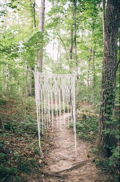 Macramé Wedding Backdrop/ Macrame curtain/ Boho wedding decor/Rustic Wedding/Macrame Wall Hanging/ Photography props/ Photography backdrop by Eastknits on Etsy https://www.etsy.com/listing/242733183/macrame-wedding-backdrop-macrame-curtain