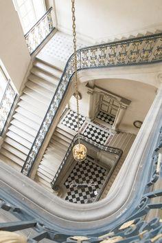 The Questel Staircase, Versailles, by Georgianna Lane