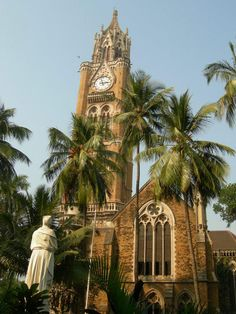Clock tower at Mumbai UniversityMumbai, India