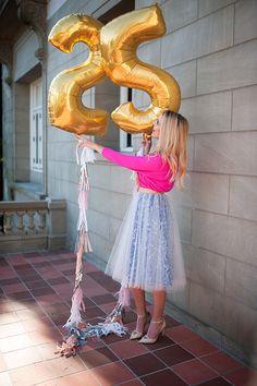Golden 25th! Love the Anthropologie capelli skirt