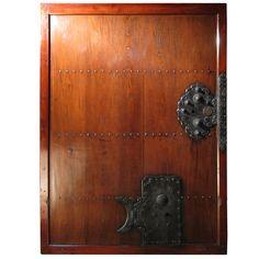 Keyaki wood Kura Storehouse Door