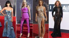 Así se veían estas famosas en el MTV Europe Music Awards 2014. #Fashion #RedCarpet #Moda #VivaLoChic #LoMasChic #Pasarela