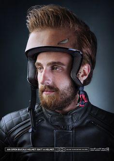 Case: Helmet ヨルダンのアンマンで実施されたシリーズプリント広告をご紹介。広告主はJordan Insurance Companyという名の保険会社。  増加するバイクでの死亡事故に