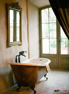 This once private Tuscan villa is now a boutique hotel called Borgo Santo Pietro, located Rustic Italian, Italian Home, Italian Villa, Interior And Exterior, Interior Design, Interior Styling, Interior Decorating, Decorating Ideas, Tuscan Design