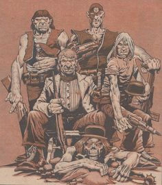Angel Gang Family photo (Judge Dredd)