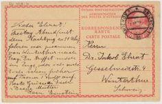 Albert Einstein (1879-1955) an Jakob Ehrat (1876-1960). Hs 1509:4