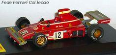 Ferrari 312B3/F1 de 1974 de Niki Lauda. Modelo antiguo montado en Kit de John Day a escala 1:43