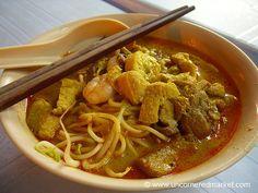 Malaysian Food, Penang Curry Mee - Penang, Malaysia #travel  #viator  http://www.viator.com/