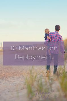 Deployments suck. Make them suck less with these 10 uplifting and empowering mantras to help you overcome anything a deployment throws at you. Must read for new and seasoned military spouses/milspouses, and milso! Pin it for later!