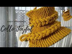 Crochet, Knitting, Handmade, Lana, Youtube, Long Scarf, Crocheting, Tejidos, Manualidades