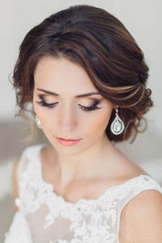 There is no day more important to a woman, than that of her wedding. Lets see most beautiful wedding makeup ideas from Pinterest