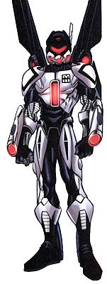 Beetle aka Mach 3 (tech genius, former criminal)