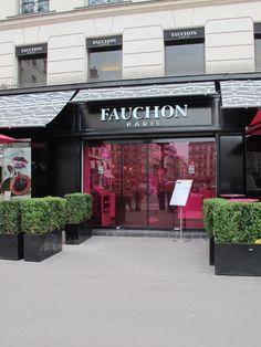 FAUCHON, Place de la Madeleine, Paris, France. Luxury food company.