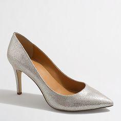 """<ul><li>Polyurethane upper.</li><li>3 1/2"""" heel.</li><li>Man-made lining and sole.</li><li>Import.</li></ul>"""