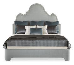 Bernhardt Interiors Upholstered Platform Bed (344-H86/FR86) by…
