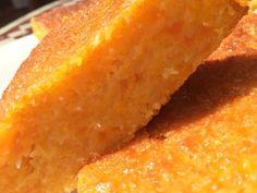 Gâteau portugais carotte et coco - parfait pour utiliser les jaunes d'eux