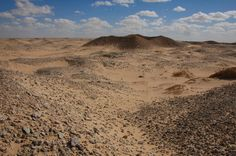Archaeologists reveal mysteries of 'lost' 3,000-year-old civilisation.  The work of a University of Leicester archaeologist investigating a lost civilization in southern Libya will reshape the history of early Africa. Ground shot of a Garamantian fortified site (qasr)  [Credit: © Trans-SAHARA project]