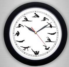 Studio Pilates, Le Pilates, Pilates Reformer, Gym Room, Body Shapes, Cadillac, Mindfulness, Clock, Fitness