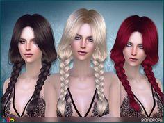 Sims 4 CC's - The Best: Anto - Raindrops (Hair)