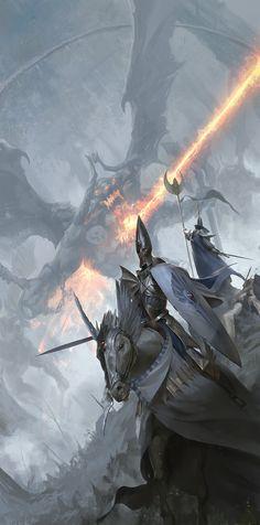 Battle of Athel Lorien by Even Amundsen