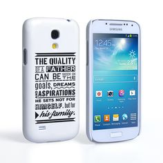 Caseflex Father Family Quote Samsung Galaxy S4 Mini Case | Mobile Madhouse