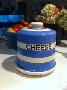 Huge Vintage TG Green Cornishware Covered Cheese Keeper   eBay