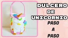 Dulcero de Unicornio Paso a Paso en Goma eva
