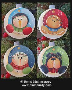 #675  Over The Moon Ornaments (PATTERN)
