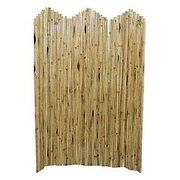 Natural Bamboo Flexible Screen with Stand - 5316 - Room Dividers - Decor