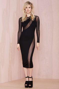 Nasty Gal Swerve Out Midi Dress | Shop Dresses at Nasty Gal