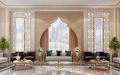 Living Room Designs, Living Room Decor, Middle Eastern Decor, Arabian Decor, Modern Interior, Interior Design, Moroccan Interiors, Mediterranean Decor, Villa Design