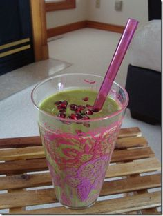 Energy booster smoothie!