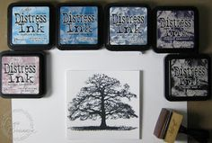 Crafter's Companion USA Information Blog : Building Color With Distress Inks