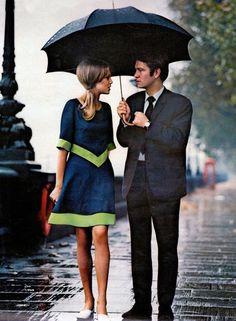 A rainy sixties day