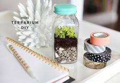 Celebrate spring with a simple terrarium DIY.