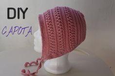 Còmo hacer una capota de Bebé ¡ Primavera ! Crochetitas supér fácil de hacer. Aguja e hilo de algodón y tejer. No dejad de tejer vuestros sueños. Buen Croche...