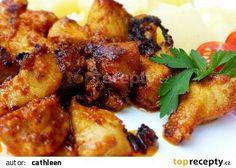 Hořčičná marináda s kari recept - TopRecepty. Modern Food, Tandoori Chicken, Pork, Vegetarian, Meat, Ethnic Recipes, Kale Stir Fry, Pork Chops, Kitchen Modern
