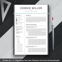 Professional Resume Template Resume Cover Letter For By Gresume