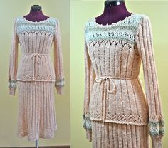 1970s Vintage Marisa Christina Peach and by TabbysVintageShop, $42.00