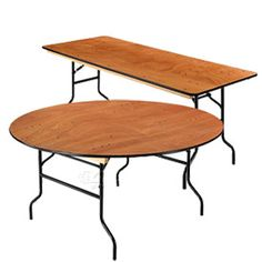 Paramount™ Heavy Duty Plywood Folding Banquet Tables