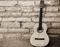 Black-and-White-Guitar-HD-Wallpaper.jpg (800×637)