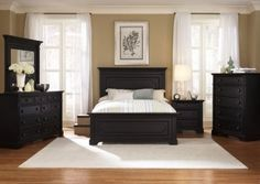 Beautiful Bedroom Love The Black White And Tan This