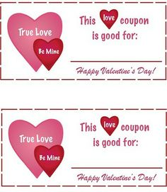 """we are """"poor college students"""" :) and we can't always afford to go all out like we used to for Valentine's Day. So I came up with a solution this year. I am making my hubby these love coupons!"""