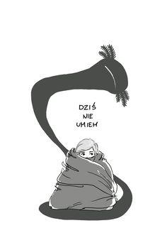 #bad #day  #gryzmoU #squiggle #illustration