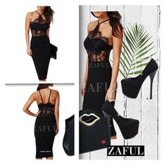 """""""zaful.com?lkid=4273 (10)"""" by albinnaflower ❤ liked on Polyvore featuring mode et NLXL"""