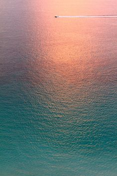 water, color, sunset, the ocean, sea